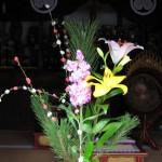 産女観音 弘支堂 供花